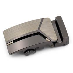 Ремень пряжка мужской металлический бизнес автоматические пряжки кожа пряжки для пояса без пояса аксессуары подарок
