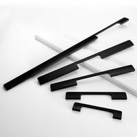 American Handle 1000 MM Long Matte Black And Gold Aluminum HandleS Modern Simple Wardrobe Door Long Knob Cabinet Drawer Pulls