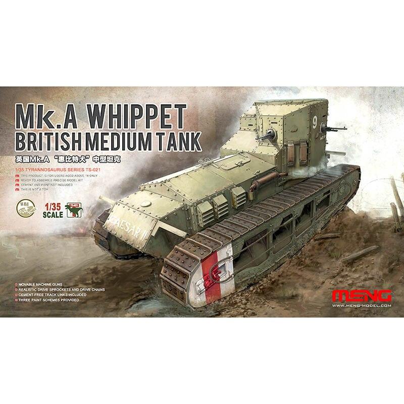 MENG 1:35 Britannique Whippet réservoir modèle Jouets