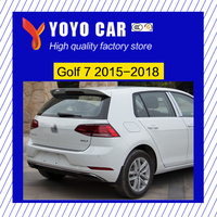 Hot sale ABS black white or primer unpainted color car car rear wing roof spoiler for Golf 7 2015 2016 2017 2018
