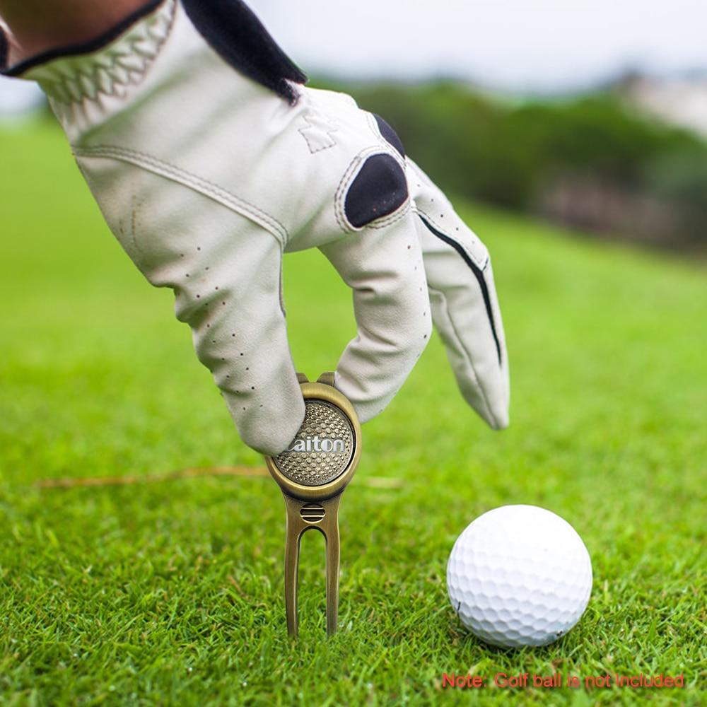 Инструмент для углубления Гольфа Вилка силовой очиститель для игры в гольф Спорт на открытом воздухе тренировочный аппарат ремонт аксессу...