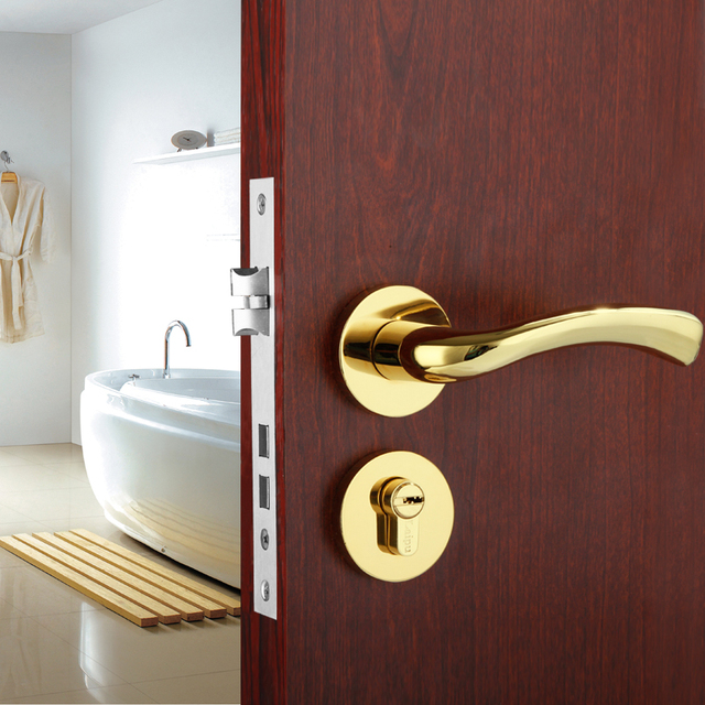 to outside how a watch or hqdefault lock door the from bathroom privacy bedroom open