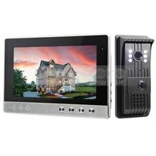 Diysecur 10 дюймов телефон видео домофон Дверные звонки + 700 ТВ линия LED Ночное видение Камера охранных Системы