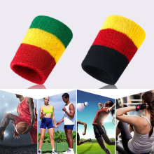 Elastic Sport Bandage Wristband Support Wristband Sweat-absorbent Basketball Towel Guard Wrist Weat band Fitness Powerlifting