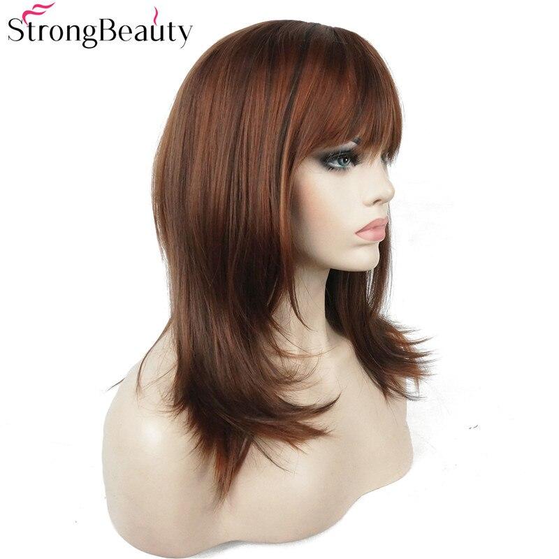 Ισχυρή ομορφιά Συνθετική Long Straight - Συνθετικά μαλλιά - Φωτογραφία 3