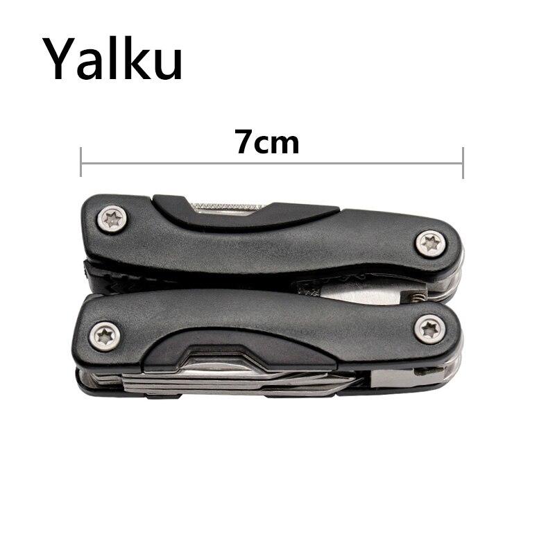 Yalku Nóż składany Szczypce Multitool Szczypce Outdoor Multitool - Narzędzia ręczne - Zdjęcie 6