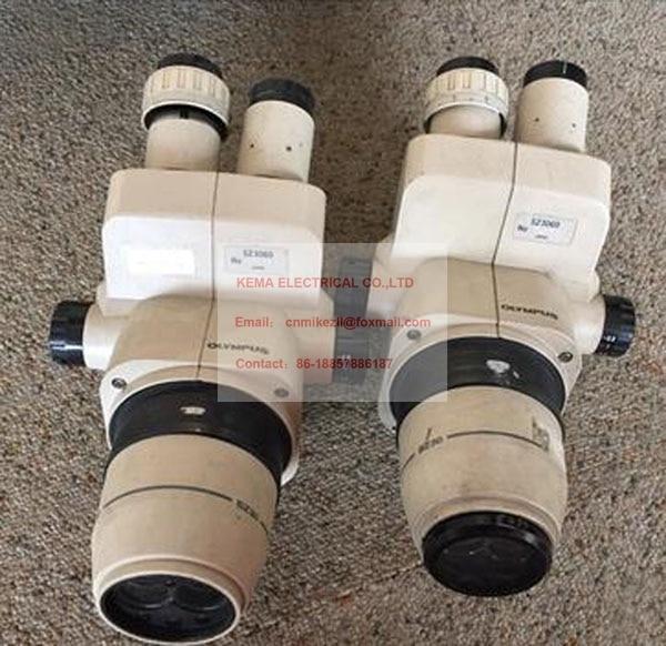 Free shipping! Worthy Used Olympus SZ30 SZ3060 SZ40 Stereo Zoom Microscope 10X With Eyepieces