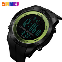 SKMEI Brand Compass Men Sports Watch Countdown LED Digital Military Watches Compass Multifunction Wristwatches Relogio Masculino