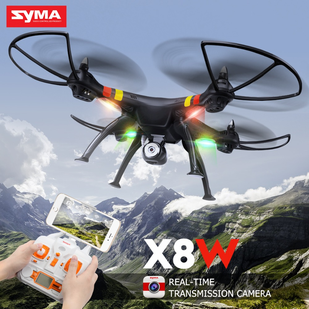 7.4V 2000mAh RC Quadcopter SYMA X8W RC Drone with 2MP HD Camera Wi-fi FPV Real Time 2.4G 4CH Remote Control Helicopter rc quadcopter drone with camera hd 0 3mp 2mp wifi fpv camera drone remote control helicopter ufo aerial aircraft s6