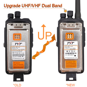 Image 3 - Tyt MD UV390 Dmr Radio Gps Waterdichte IP67 Walkie Talkie Upgrade Van MD 390 Digitale Radio Md UV390 Dual Band Vhf Uhf tyt Dmr 5W