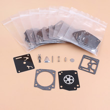 Kit de reparación de carburador, compatible con HUSQVARNA 365, 362, 371, 372, 372XP, Jonsered 2065, 2165, Zama, RB 31, RB31, 10 Uds. Por lote