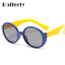 Ralferty Child Round Polarized Sunglasses Kid Infant Boys Girl TAC TR90 Polaroid Sun Glasses Outdoor Sport Goggles Oculos 8104