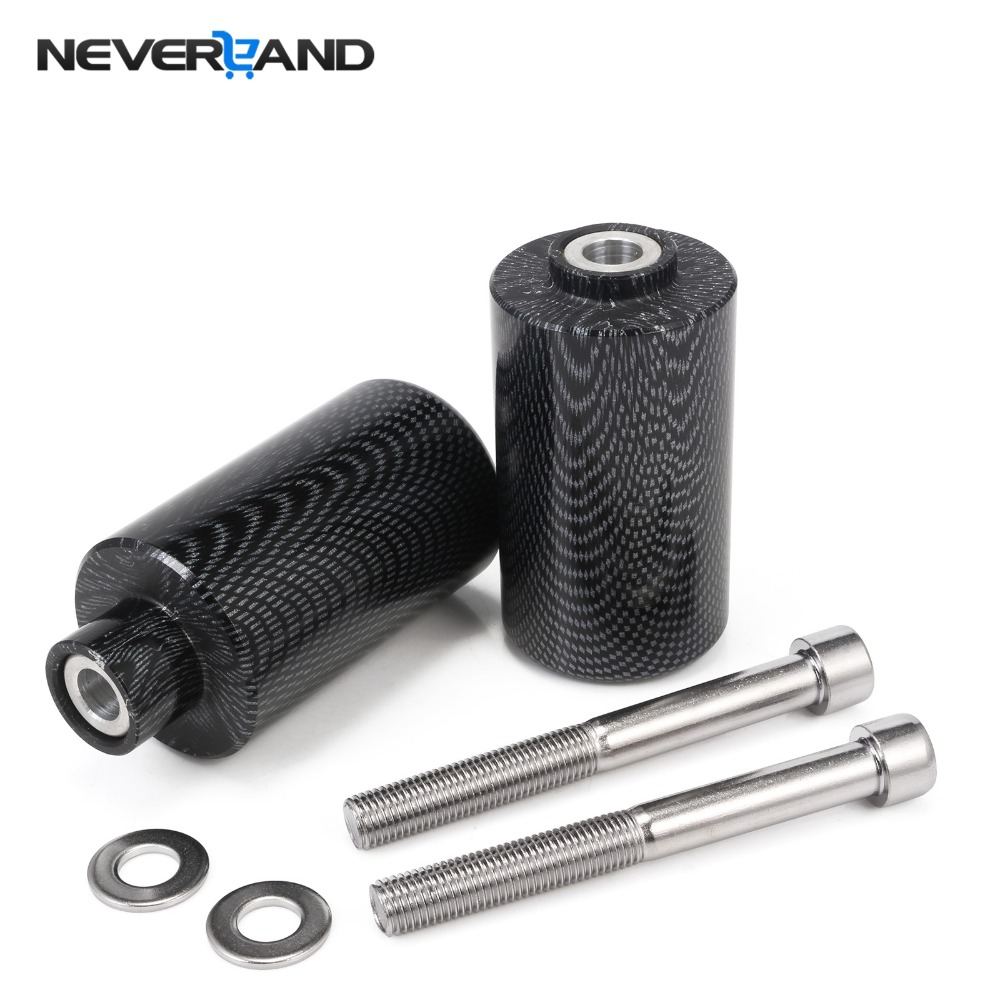 For Suzuki GSXR 1000 K7 2007 2008 Motorcycle Carbon Fiber Frame Sliders Falling Protection Anti Crash Pad Left & Right Sides D15 ...