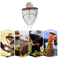 Садовая противопчелиная маска для лица, шляпа, защита для пчеловода, кепка для пчеловода, летающее насекомое, нейлоновая сетчатая пряжа, анти-пчелиная одежда, аксессуары