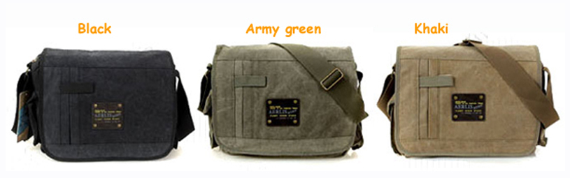 Fashionable cotton canvas men bolsas shoulder bags Vintage large ...