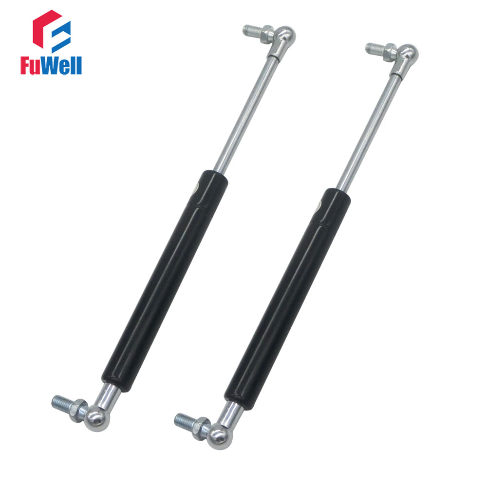 260mmx80mmx20kg Gas Spring Lift Support 260mm Hole Center Distance 80mm Stroke 20KG Force M8 Ball Joint Gas Strut Shock Spring 400mm hole center 90mm stroke auto gas spring 20kg force gas strut damper ball joint m8 gas strut shock spring lift