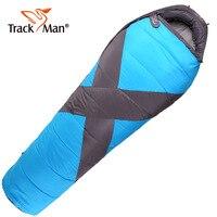 Trackman Outdoor Sleeping Bags 218*80cm Cotton Hiking Camping Spring Autumn Sleeping Bag 2.16kg