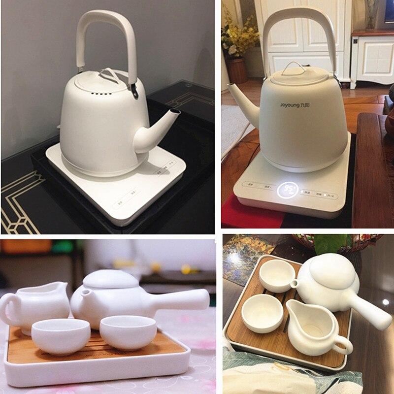 220 В бытовой электрический чайник нержавеющая сталь внутренняя чай пособия по кулинарии горшок с индукции плита воды чайник для кипячения