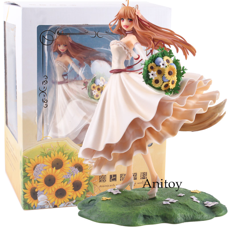Anime Spice and Wolf Holo Wedding Dress Ver 1 8 Scale PVC Holo Figure Collectible Model