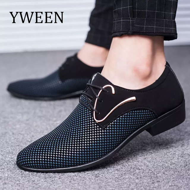 YWEEN New Arrive Men Oxford Shoes Free Shipping Men's Dress Shoes Man Casual Shoes Plus Size 38-48