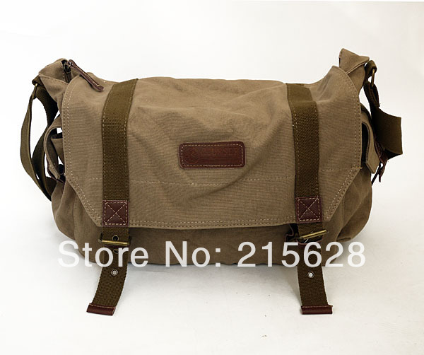 Vintage waterproof canvas DSLR camera Video bag photo Shoulder digital SLR case backpack for canon Nikon Olympus Pentax Fujiflim