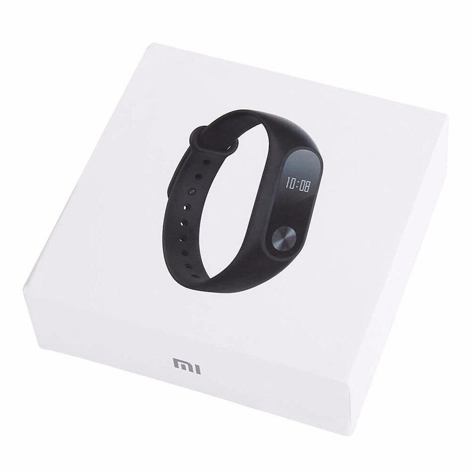 Xiaomi Mi Band 2 Smart Bracelet Watch OLED Display Heart Rate Monitor Bluetooth Fitness Tracker Waterproof Miband 2 4