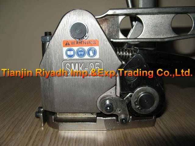 """Оптовая китайская фабрика! Ручной Бессальниковый инструмент для обвязки стальными лентами упаковочная машина SMK-25 для 13-25 мм (1/2 """"-1"""") стальной ремешок"""