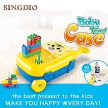 Maletín con Piezas de Construcción | Juguetes para bebés