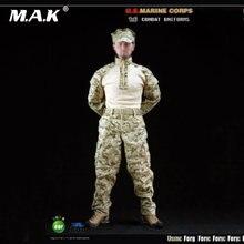 Одежда для солдат набор 1/6 морской пехоты США лягушками армейские
