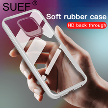 SUEF New Arrival Soft TPU Full Protect For Huawei Mate 20 / Pro Case Transparent Phone Bags Cases Funda Anti-knock Capa