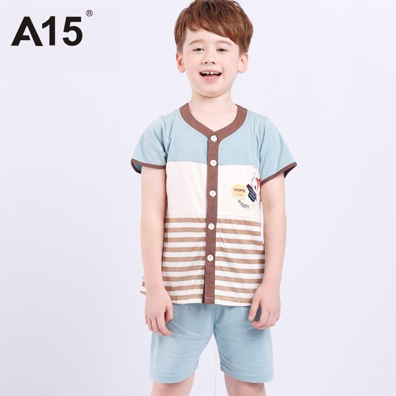 Online Buy Wholesale boys summer pyjamas from China boys