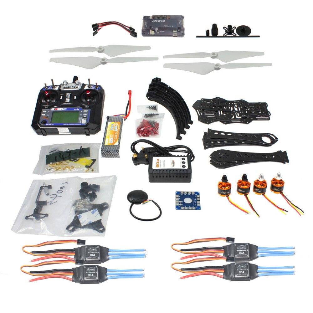 F14893-P Full Kit DIY RC Drone Quadrocopter X4M380L Rahmen Kit APM 2,8 Gimbal TX