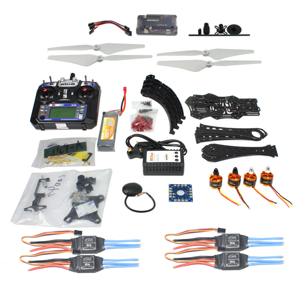 F14893-P Kit completo DIY RC Drone Quadrocopter X4M380L marco Kit APM 2,8 Gimbal TX