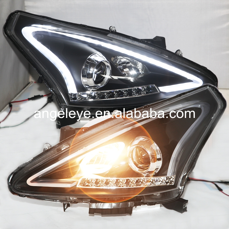2011-2015 Year For Nissan Tiida Pulsar C12 Strip LED Headlights LF
