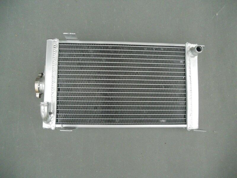 Brand New High Quality Aluminum Radiator For GAS SHIFTER KART GO KART WITH BRACKET