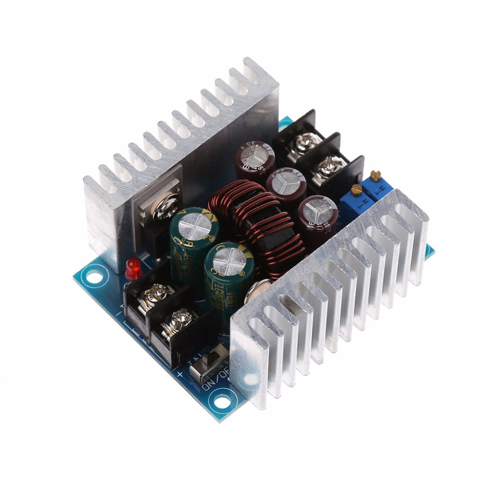 DC 300W 20A CC CV Constant Current Adjustable Step-Down Converter Voltage Buck Integrated Circuits