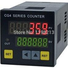 Цифровой счетчик CG4 48*48 мм Электрический цифровой счетчик CG4-RB60
