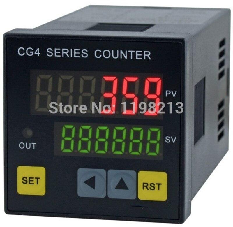 Contador bonde CG4-RB60 de digitas cg4 48*48mm do contador de digitas