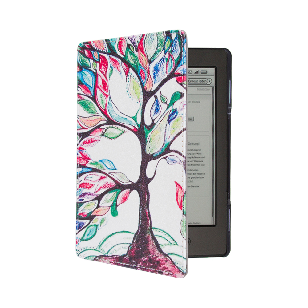 """1PC Leather Cover Case for Amazon Kindle 4/5 E-book Reader 6"""" Inch (not fit for kindle touch)-4"""