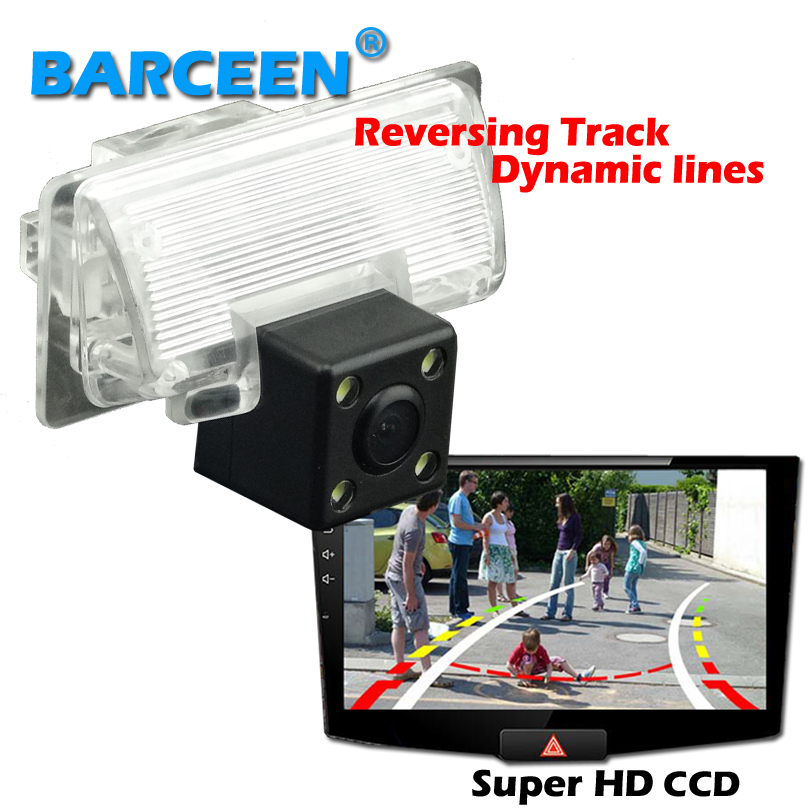 Original car parking assist system ccd image use for Nissan Altima/TEANA /Sylphy car rearview camera Dynamic track line