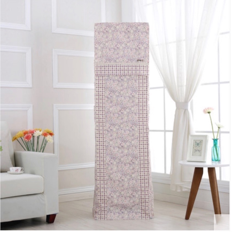 Air Conditioner Cover Decorative Hood Lace Curtain Dustproof For Standing  Air Condition(China (