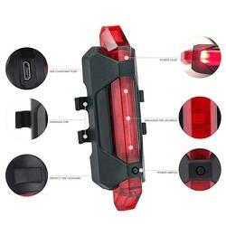 Портативный USB Перезаряжаемые велосипед задний фонарь безопасности Предупреждение задний фонарь лампа супер яркий ASD88