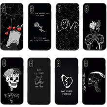 Xxxtentacion Cases for iPhone X XS XR MAX LIL PEEP Crybaby Hellboy GBC Rose Back Cover For 5 5S SE 6 6SPlus 7 8 Plus