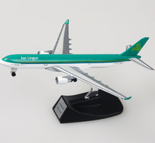 14CM Ireland Aer Lingus Airlines Airbus A330 Model Diecast Metal Alloy Plane Aircraft Model Toy Airplane Kids Children Gift