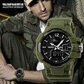 SKMEI Marca de moda Ao Ar Livre Homens Esportes Militar Relógios LED À Prova D' Água Relógio Digital de Quartzo relógios de Pulso Multifuncionais 1040 #