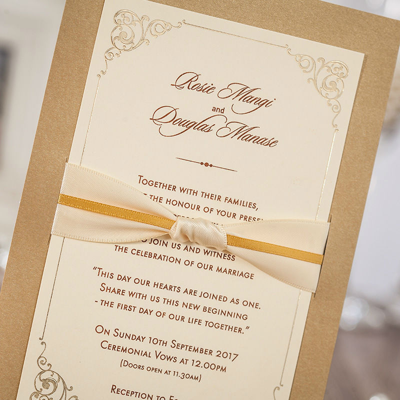 50pcslot vintage ribbon bow wedding invitations cards elegant 50pcslot vintage ribbon bow wedding invitations cards elegant business invitation dinner party greeting cards envelopesseals in cards invitations from stopboris Image collections
