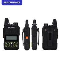 הדרך רדיו uhf BF-T1 Baofeng טוקי רדיו לילדים UHF רדיו ניידת שני הדרך Ham CB רדיו USB מטען מיני BF T1 Baofeng 2pcs WALKY טוקי (2)