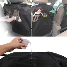 PVC Car Seat Back Protector Mat and Stuff Hanger