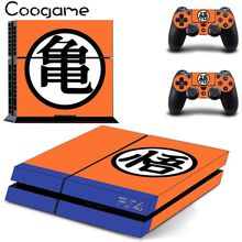 Original Playstation 4 PS4 Dragon Ball Skin Console 2 Skins