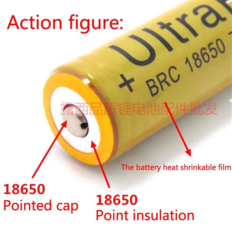 Купить с кэшбэком 100pcs/lot 18650 batteries can weld cap can be spot hat flashlight battery tip cap wholesale